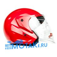 Шлем BLD 286 (красный, размер S, НО реально 57-58, открытый)