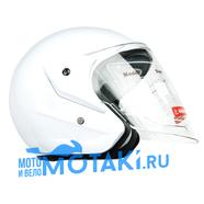 Шлем BLD 286 (белый, размер S, НО реально 57-58, открытый)