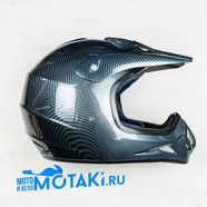 Шлем BLD819-2 (цвет карбон, размер XS, НО реально 56-57, кросс)