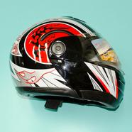 Шлем Safelead HF-108/LX-508 (черно-красный, размер M 57-58, модуляр)