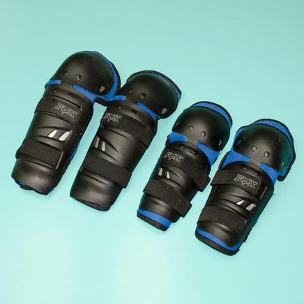 Защита рук и ног Fox N1 (налокотники, наколенники) СИНИЕ