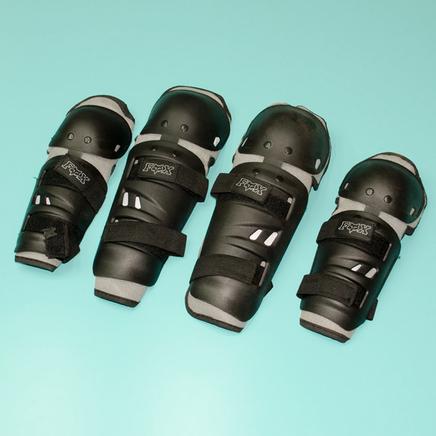Защита рук и ног Fox N1 (налокотники, наколенники) СЕРЫЕ