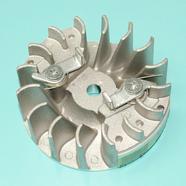 Маховик Хускварна 137-142 (магнето под шпонку D89 x h32 мм., Китай)