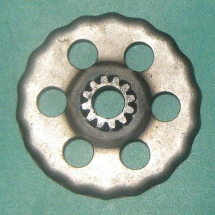 Барабан сцепления наружный мопед 2-ск. Карпаты (круглые шлицы)