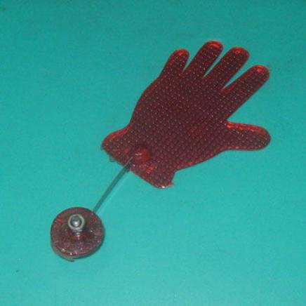 Катафот вело рука Бай-Бай (красная)