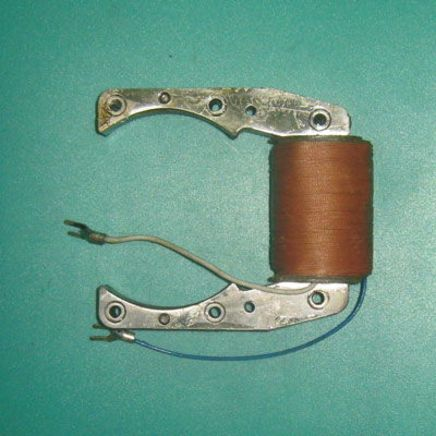 Катушка зажигания мопед 1-ск. Д-8 (2 провода, Китай)