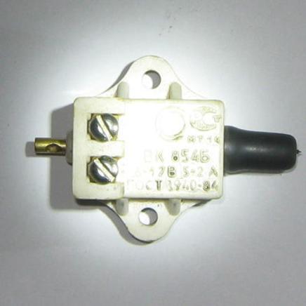 Выключатель стоп-сигнала Иж, Урал, мопед 2-ск. (лягушка ВК854-Б заднего тормоза, Китай)