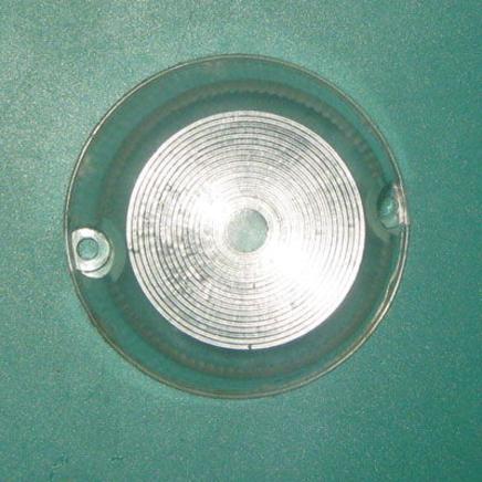 Стекло поворота Иж круглое (БЕЛЫЙ КОЛЬЦА рассеиватель фонаря-указателя)