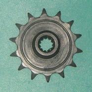 Звезда ведущая мопед 2-ск. (14 зубов, d10 мм., 11 шлиц, ПР12.7-18.2-1, Китай)