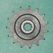 Звезда ведущая мопед 2-ск. (15 зубов, d10 мм., 10 шлиц, ПР12.7-18.2-1, Китай)
