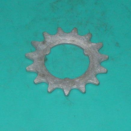 Звезда вело 15 зубов (под российскую втулку d36 мм.)