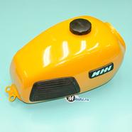 Бак топливный Иж-4 (желтый, реставрация МотоМеханика)