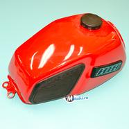 Бак топливный Иж 5 (красный, реставрация МотоМеханика)