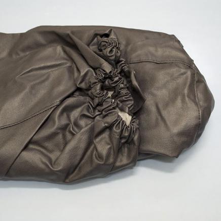 Тент коляски Иж Люкс (чехол с резинкой под дугу, черный)