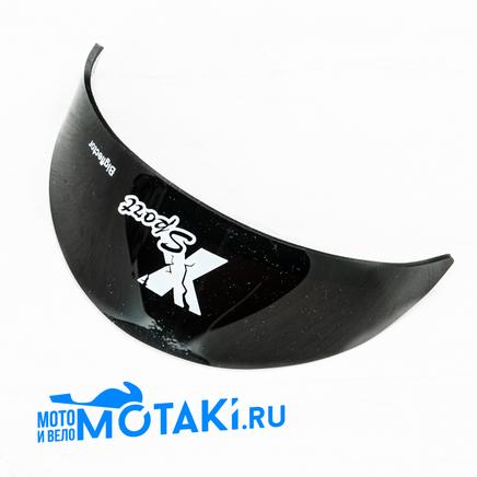 Козырек фары Иж, Урал (черный)