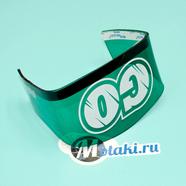 Козырек стоп-сигнала Иж, Урал, Восход (зеленый, длина 150 мм.)