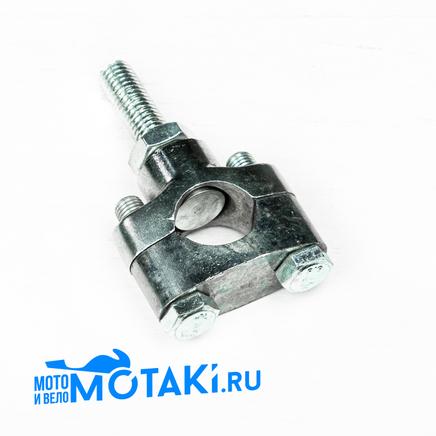 Кронштейн крепления руля Иж (1шт. держатель нового образца, М10 x 1.5 мм.)