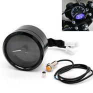 Спидометр, тахометр, одометр мото универсальный (круглый LCD дисплей)