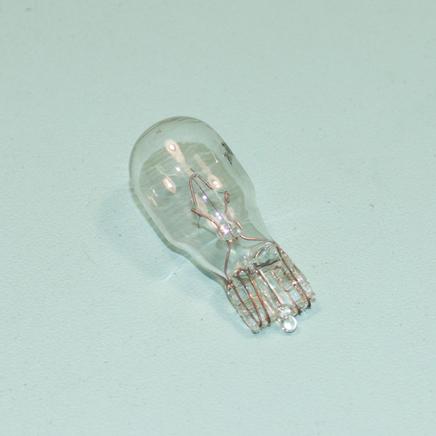 Лампа 12В 10W T10 в поворотники скутера (без цоколя, белая)