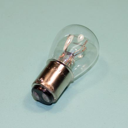 Лампа 12В 21/5W стоп-сигнала (двухконтактная, в цоколе)