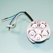 Лампа в фару Альфа (5 LED диодов 9-26В, 3 провода)