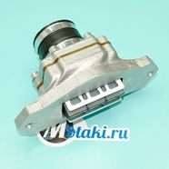 Клапан лепестковый Буран (корпус в сборе с патрубком под Mikuni)