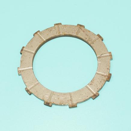 Диск сцепления мопед 2-ск. (металлический, квадратные шлицы)