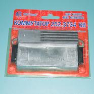 Коммутатор мопед 2-ск. 6В 65Вт БКС 252.3734 (6 и 4 контакта, Совек Украина)