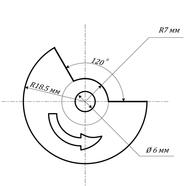 Модулятор бесконтактного зажигания Муравей (вырез 120 градусов, БСЗ Muravey 2.5)