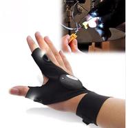 Перчатка с фонариком (2 диода, водостойкая с батарейкой на правую руку)
