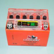 Аккумулятор 12В 4Ач скутер, Альфа (113 х 70 х 85, UTX4L-BS гелевый с индикатором)
