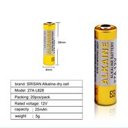Батарейка 12В 27А (алкалиновый элемент питания)