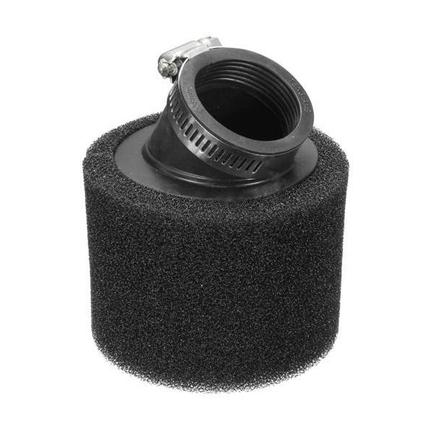 Фильтр 0 нулевого сопротивления d35 мм. (ПОРОЛОНОВЫЙ ЧЕРНЫЙ, угловой)