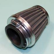 Фильтр 0 нулевого сопротивления d42 мм. мото, Динго T150 (конус высокий h62 x D74 мм.)