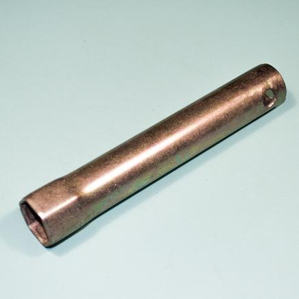 Ключ свечной мото на 21 мм. (длинный 140 мм., Россия)