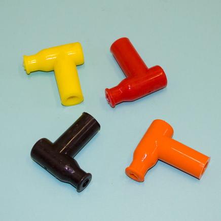 Колпак свечи силиконовый Т-тип (оранжевый)