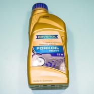 Масло вилочное RAVENOL FORKOIL Heavy 15W (1 литр, Германия)