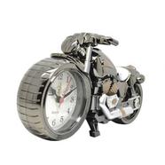 Часы настольные в виде мотоцикла (цвет черный, 230 x 130 мм.)