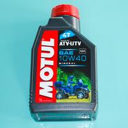 Масло моторное MOTUL ATV-UTV для 4-х т. двигателей (минеральное SAE 10W40, 1 л.)