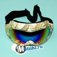 Очки защитные RACING 606-1 (двойное стекло, защита UV-400)