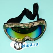 Очки защитные RACING 608-9 (двойное стекло, защита UV-400)