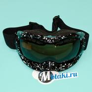Очки защитные RACING 628-10 (двойное стекло, защита UV-400)