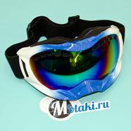 Очки защитные RACING 628-4 (двойное стекло, защита UV-400)
