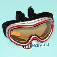 Очки защитные RACING 632-2 (двойное стекло, защита UV-400)