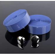 Обмотка руля с заглушками (голубая вспененная резина 2 шт. 30 х 2000 мм.)