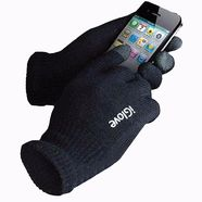 Перчатки сенсорных экранов iGloves (черные)