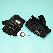 Перчатки PRO-BIKER MCS-04 (размер XL, черные БЕСПАЛЫЕ)