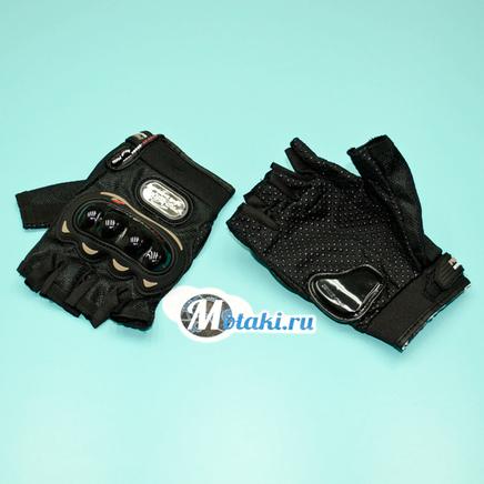 Перчатки PRO-BIKER MCS-04 (размер XXL, черные БЕСПАЛЫЕ)