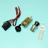 Прикуриватель мото, скутер 12В (монтируется в панель приборов, с нагревателем)