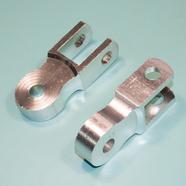Проставка амортизатора высокая (2 шт., высота по осям 50 мм., d10 мм., хром)